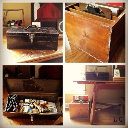 DIY Metal Box & Wood Box